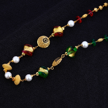 Antique Ladies Wear 22K Gold Cz Mala-AC117