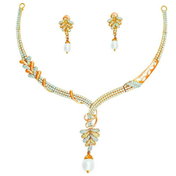 22KT Fancy Gold Necklace set