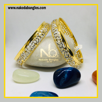 916 Gold CNC Bangles NB - 1276