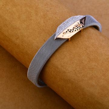 750 rose gold stylish chain bracelet mlb104