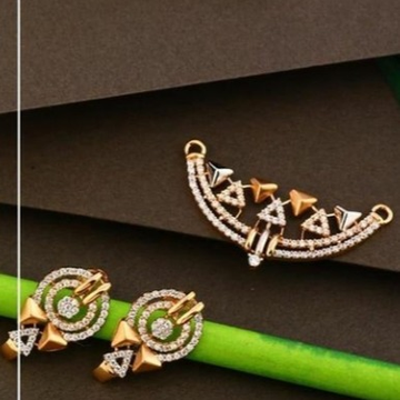 18 carat rose gold fancy pendants set RH-PS463