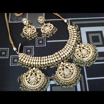 Jadtar bridal necklace set 1839