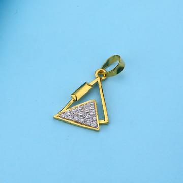 916 Gold Cz Hallmark Diamond Pendant LFP29