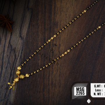 916 Gold mangalsutra msg-2265