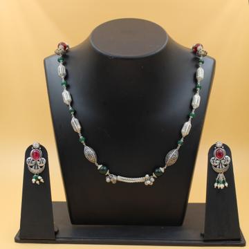 92.5 antique necklace set SL N003