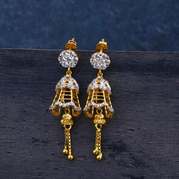 ladies traditional jummar earrings 916 -LJE46