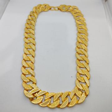 916 Gold Fancy Gent's Singapuri Chain