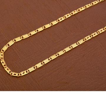 916 Gold Stylish  Hallmark  Men's Nawabi  Chain  MNC43