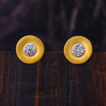916 Gold Cz Exclusive Earring LFE333