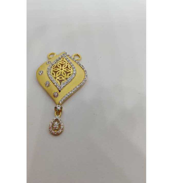 22k Ladies Fancy Gold M S Pendant M-32007