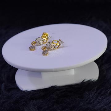 22KT/916 Yellow Gold Upala Earrings For Women