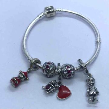 925 sterling silver pendoraa bracelet by Veer Jewels