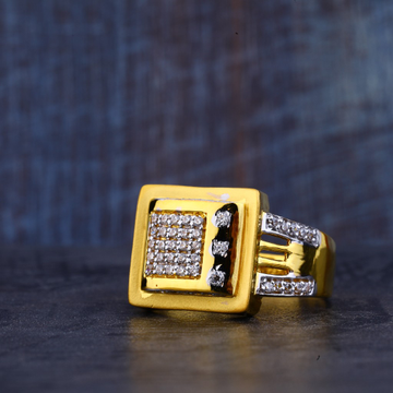 Mens Gold Fancy Ring-MR374