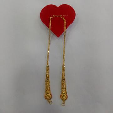 22k ear chain kanser new diseng by