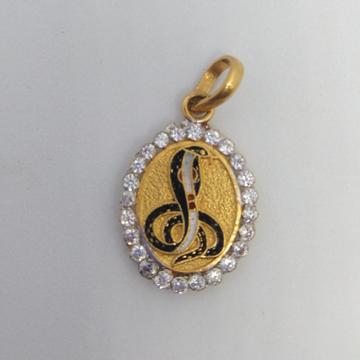 22 kt 916 god pendant by Zaverat