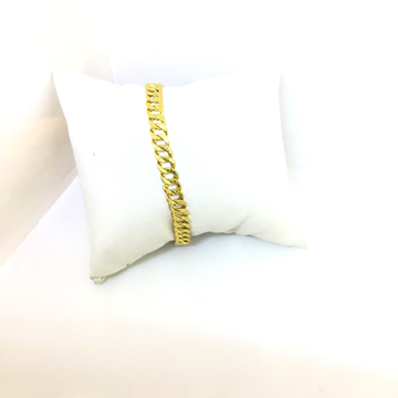 BRANDED FANCY GOLD BRACELET by