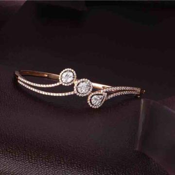 18KT Rose Gold Delicate Diamond Bracelet