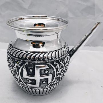 925 Pure Silver Antique Karwa in Fina Nakashi 275G...