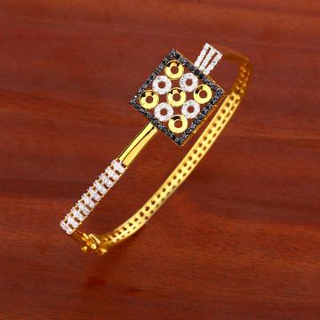 750 Gold CZ Ladies Exclusive Kada Bracelet LKB115