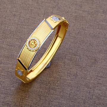 Gents modern aum bracelet 916 by