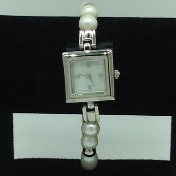 Freshwater White Round Pearls Watch JBG0229