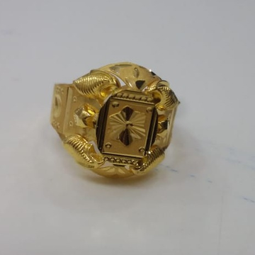 22 kt 916 Gold Ring by