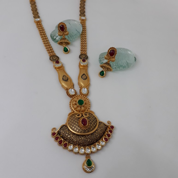 22ct Antique kundan Set  st/56/160