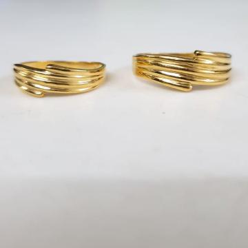 22KT Yellow Gold Antoine Couple Ring For Unisex