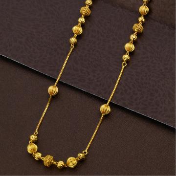 916 Gold Hallmark Beads Mala