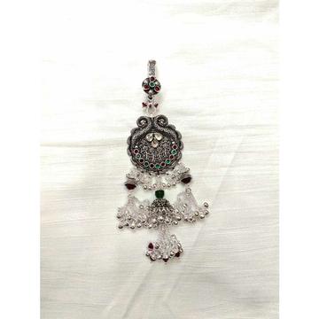 Peacock Dimond Bajna(Bolti) Ghughri Single Aakadiya Antique Juda Ms-2352