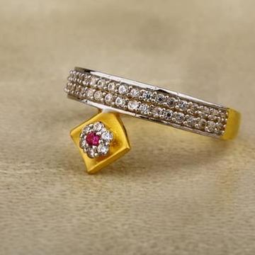916 Gold cZ Ladies Ring LR-0022