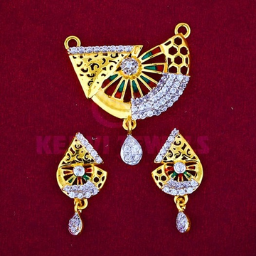 916 Gold Mangalsutra Pendal with Butti MSP-009