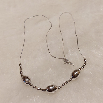 Silver Necklace by