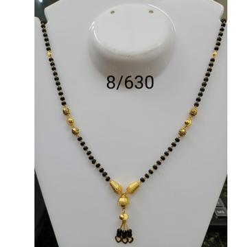 916 Gold Daliy Wear Dokiya Mangalsutra RH-MS14