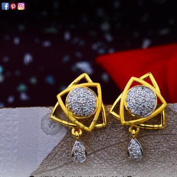 916 gold earrings sge-0034