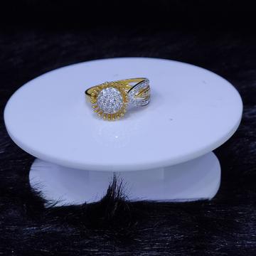 22KT/916 Yellow Gold Bradley Ring For Women
