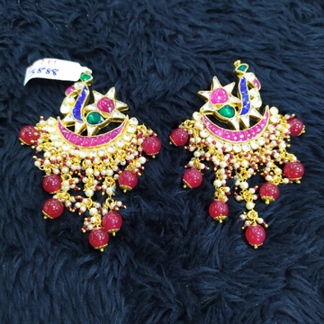 beautiful peacock earrings#742