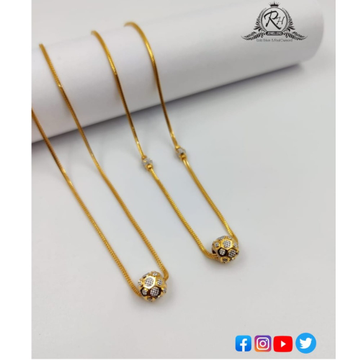 22 carat gold antique chain RH-CH556