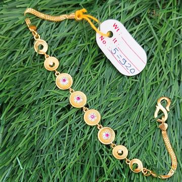 916 ladies light weight fancy bracelet by