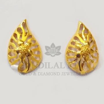 22kt gold tops natural flora design