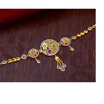 916 gold Classic Bajubandh BB01