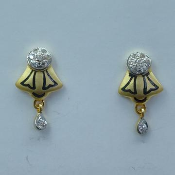 fancy 916 light weight earrings by Shree Sumangal Jewellers
