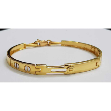 22k Gents Fancy Gold Bracelet G-3448
