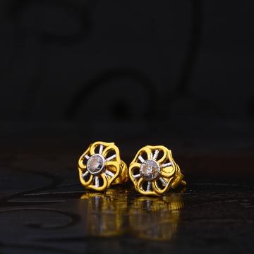 916 Gold Fancy Earring for women LSE137