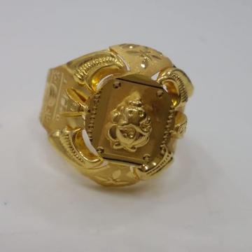 22 kt 916 gold ring for men by