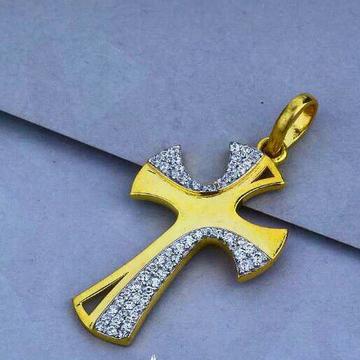 22ct Cross Pendant Fancy