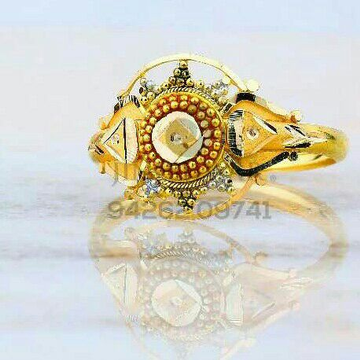 Fancy Plain Gold Casting Ladies Ring LRG -0828