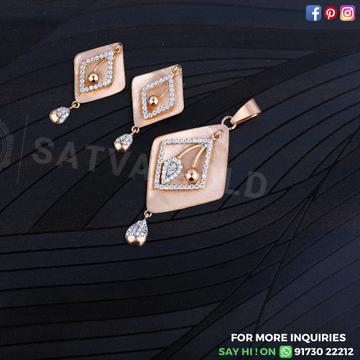 76 ROSE GOLD PENDANT SET SGP-0008