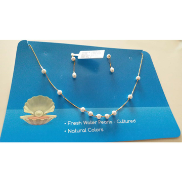 Pearl Necklace Set by