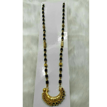 916 Antique Gold Marwadi Mangalsurta